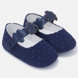 Mayoral 9812-88 Dětské boty pro dívky granátové barvy