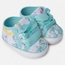 Mayoral 9816-61 Dětské tenisky pro dívky tyrkysové barvy
