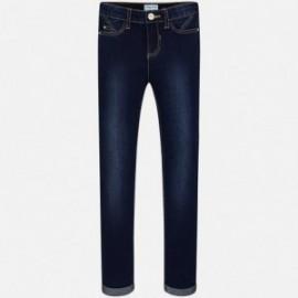 Mayoral 85-64 kalhoty dívčí barvy tmavé džíny
