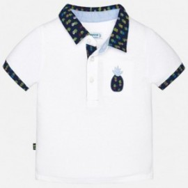 Mayoral 1130-65 Polo chlapecké barvy Bílá