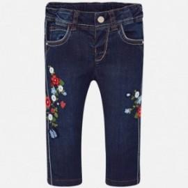 Mayoral 1524-47 Dívčí kalhoty barva granát