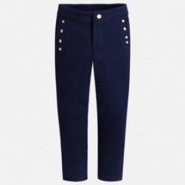 Mayoral 3502-77 Kalhoty pro dívky barva granátu