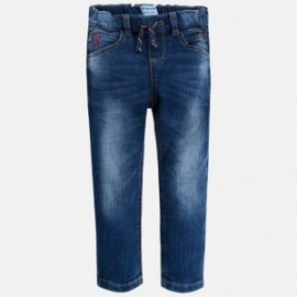 Mayoral 3540-32 Kalhoty chlapci džíny barva tmavě modrá