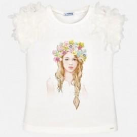 Mayoral 6006-83 Dívčí tričko barva vody