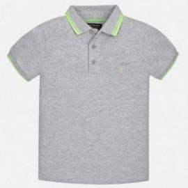 Mayoral 6134-61 Polo chlapci barva šedá