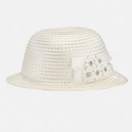 Mayoral 10359-67 Dívčí klobouk barevný krém