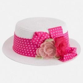 Mayoral 10416-29 Dívčí klobouk fuchsie barvy