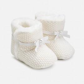 Mayoral 9927-34 Dívčí boty barevný krém