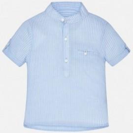 Mayoral 1156-40 košile chlapci na stojanu barva modrý