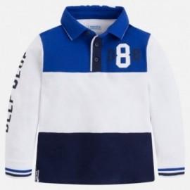 Mayoral 3186-57 tričko chlapci pólo barva modrý