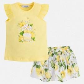 Mayoral 3993-47 Dívčí set žlutá barva