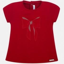 Mayoral 105-17 tričko pro dívky červené