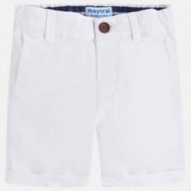 Mayoral 202-52 Bermudy pro chlapce bílé barvy