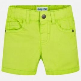 Mayoral 206-33 Bermudy chlapci zelené barvy