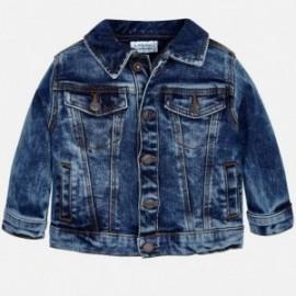 Mayoral 420-5 Jeansová bunda chlapci barva granát