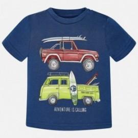 Mayoral 1056-28 tričko chlapci barva granát