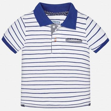 Mayoral 1134-46 tričko chlapci pólo barvamodrý
