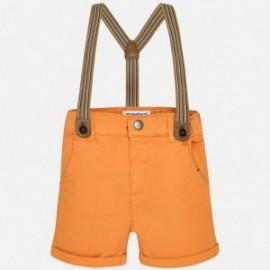 Mayoral 1200-45 Bermudy chlapci barva oranžový