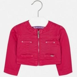 Mayoral 1426-26 Krátká dívčí bunda fuchsie barva
