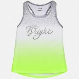 Mayoral 6080-78 tričko dívčí akvamarínová barva