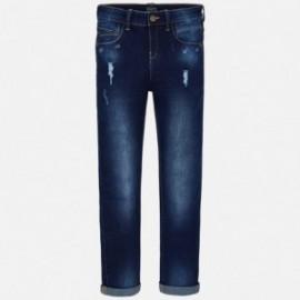 Mayoral 6530-83 Chlapčenské kalhoty barva granát