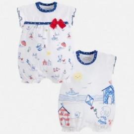 Mayoral 1760-10 Pyžama pro dívky 2 kusy modré