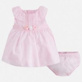 Mayoral 1822-49 Šaty pro dívky barva růžová