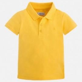 Mayoral 150-38 tričko pólo chlapci barva žlutý