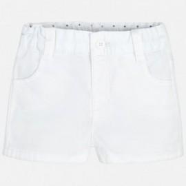 Mayoral 201-73 Krátké kalhoty chlapci barva bílá