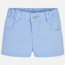 Mayoral 201-72 Spodnie krółtkie serża kolor Sky blue
