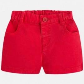 Mayoral 201-70 Krátké kalhoty chlapci barva červená