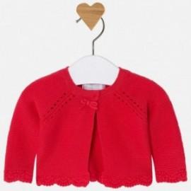 Mayoral 325-25 Dívčí svetr barva červená