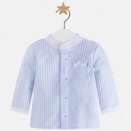 Mayoral 1114-81 košile chlapci prádlo barva modrý