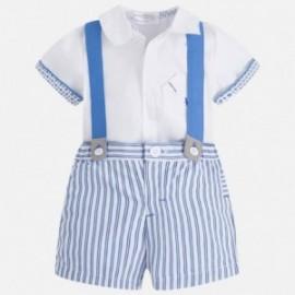 Mayoral 1224-10 sada chlapecký barva bílá/modrá
