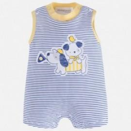 Mayoral 1718-77 Chlapecká pyžama barva modrý