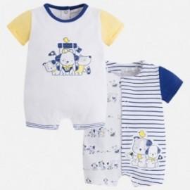 Mayoral 1728-72 pyžamo chlapci 2 ks žlutý