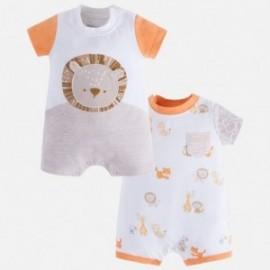 Mayoral 1734-87 Chlapecká pyžama 2 položky barva broskev