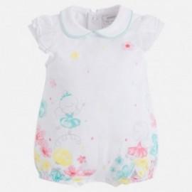 Mayoral 1736-11 Pyžama pro dívky tyrkysové barvy