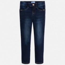 Mayoral 75-69 Dívčí kalhoty džíny barva granát