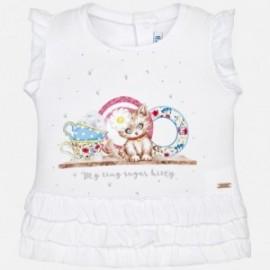 Mayoral 1016-68 tričko holčičí s ozdobami barva