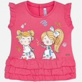 Mayoral 1016-67 tričko holčičí s ozdobami barva fusja