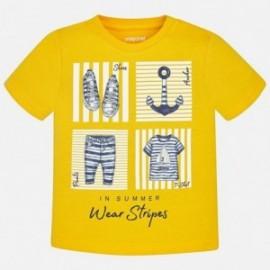 Mayoral 1046-81 tričko chlapci barva žlutý
