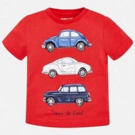 Mayoral 1056-31 tričko chlapci barva červená