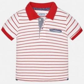 Mayoral 1134-45 tričko chlapci pólo barva červená