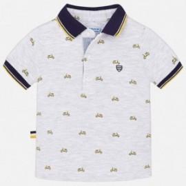 Mayoral 1136-51 tričko chlapci pólo barva šedá