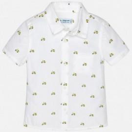 Mayoral 1152-51 Chlapčenská košile barva bílá/žlutá