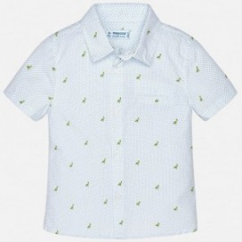 Mayoral 1152-53 Chlapčenská košile barva bílá/modrá