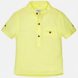 Mayoral 1156-39 košile chlapci na stojanu barva žlutý