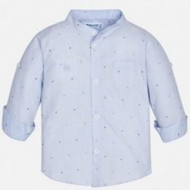 Mayoral 1166-55 Chlapec košile barva modrý