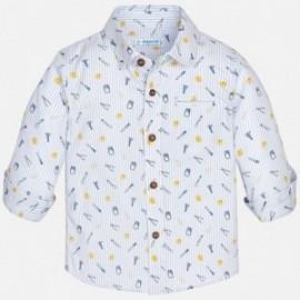 Mayoral 1174-76 Košile chlapecké barvy bílá/modrá